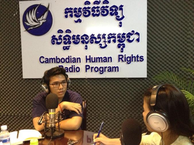 Me at CCHR Radio
